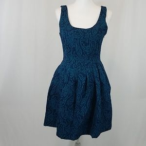 Jack by BB Dakota Blue Tapestry Dress 6